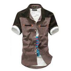 €15.99 Camisa ocasional estilo madura de verano 2013