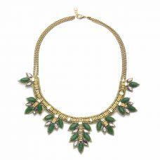 Green Jaipur Collar Necklace  #winboticca