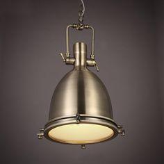 130.64$  Buy now - http://ali6zc.worldwells.pw/go.php?t=32719091700 - Retro Vintage Pendant Lights Metal Lampshade Loft Pendant Lamps E27 110V 220V for Dinning Room Home Decoration Lighting