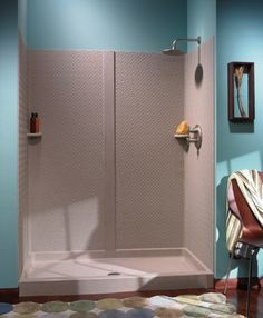 Swanstone Shower Wall Kit With Bench Seat At Menards