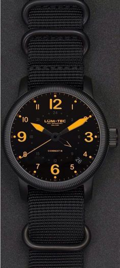 Watches Ideas The Combat B line has been quite successful for Lum-tec. Now there is a new concept on the horizon which is known as the Combat 2015 Concept. Discovred by : Todd Snyder Dream Watches, Fine Watches, Sport Watches, Luxury Watches, Cool Watches, Watches For Men, Men's Watches, Wrist Watches, Swatch