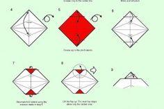 origami site fun on pinterest origami  origami Money Origami Shark Diagrams Money Origami Shark Diagrams