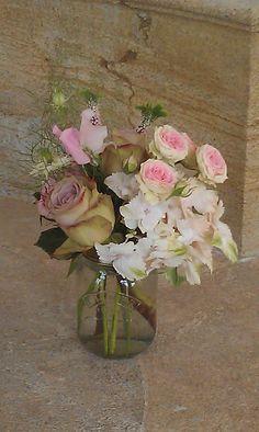Vintage roses, hydrangeas & sweet peas, Hestercombe Gardens