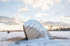 Inspired by the canoe; The vessel that symbolizes the rich history of the indigenous first nations and early exploration of North America, the shelter was bu...