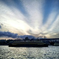 Manly Ferry and a sunset show #Sydney - @seesydney-