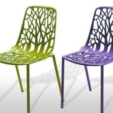 Cadeira Forest  Cadeira em alumínio injetado com pintura automotiva