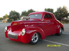 big red Willy #classiccars