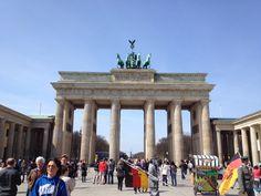 The Famous Brandenburg Gate!