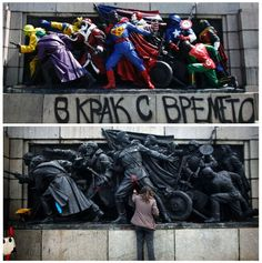 On the streets of Sofia, Bulgaria