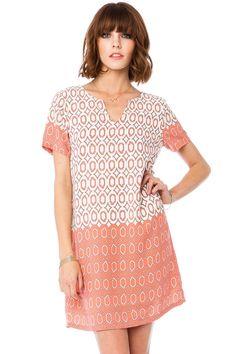 Trippe Shift Dress / ShopSosie #shift #dress #print #shopsosie
