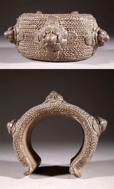 Africa | Bracelet from the Akan people | Bronze | 210€
