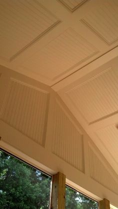 Screen porch ceilings