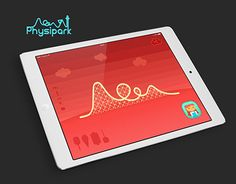 Physipark is a website for physics understanding. The theme park helps you understand how physics works. In order to play, first sync the phone with the website, and start playing!