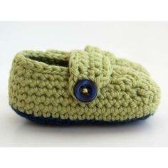Baby Booties Crochet Pattern - Free Crochet Pattern Courtesy of