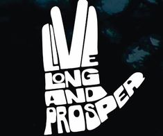 "Combat road rage by spreading a positive message to your fellow drivers through the ""Live Long And Prosper"" car decal. The famous Star Trek motto is displayed in the form of an iconic Vulcan salute - making it ideal for any Trekkie's car."