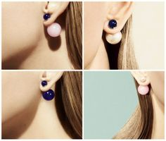 Mise en Dior earring Is this really going to e 2014 fashion?