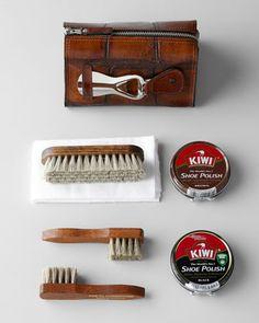 www.neimanmarcus.com Travel Shoe Shine Kit - Neiman Marcus