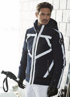 Sportalm Men's Camber Ski Jacket in Navy Blue