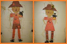 fall bulletin board ideas   Pumpkin Glyphs   Festive Fall Bulletin Board