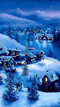 Fashion,Beauty,Landscape,Home Designe,Sexy Girls. Christmas Scenery, Winter Scenery, Christmas Past, Christmas Background, Blue Christmas, Christmas Wallpaper, Christmas Pictures, Winter Christmas, Christmas Lights