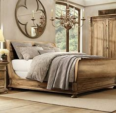 Hello you big beautiful bed. I want to curl up in you and direct life & 68 best sexy beds! images on Pinterest | Dream bedroom Bedrooms and ...