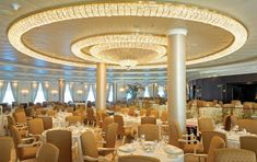 Oceania cruises – a luxury cruise with a difference Luxury Cruise Lines, Upscale Restaurants, Cruise Destinations, Cruises, Fine Dining, Ships, Ceiling Lights, Travel, Boats