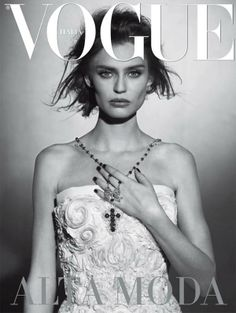 Vogue Italy, March 2013.