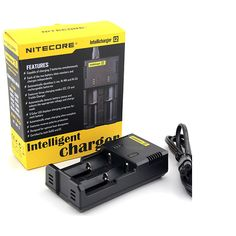 The Nitecore Intelli i2 Battery Charger is reviewed below for those of you requiring a charger to charge your mod batteries.