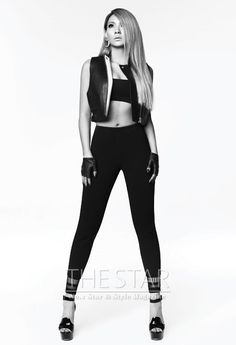 2NE1 CL - The Star Magazine July Issue  More details: http://www.avowzone.com/