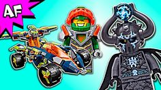 Lego Nexo Knights AARON's ROCK CLIMBER 70355 Speed Build