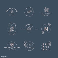 New nature logo design graphics fonts 53 ideas Minimal Logo Design, Logo Design Trends, Logo Design Inspiration, Branding Design, Free Logo Design, Typography Logo Design, Minimalistic Logo, Fashion Logo Design, Typographic Logo