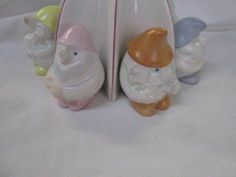Vintage Handpainted Aquincum Hungary Snow White Amp The Seven Dwarfs Figurine Set | eBay