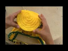 Different sizes of crocheted hats