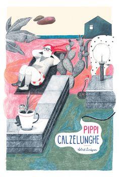 Pippi Longstocking By - Alessandra de Cristofaro