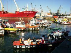 en el puerto de valparaiso