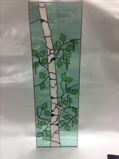 Spring birch tree