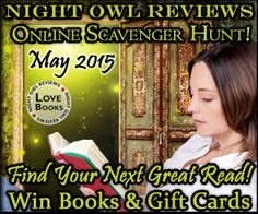 May Scavenger Hunt - Starting May 1st at Night Owl Reviews!