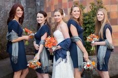 dont like the blue (needs to be brighter) or the shawls, but love the colors of the bouquets