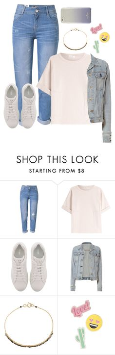 """""""Casual Friday Night"""" by yolie-cathey on Polyvore featuring WithChic, Brunello Cucinelli, Fendi, rag & bone, Dana Kellin, Red Camel and Kate Spade"""