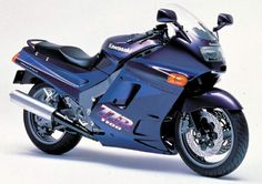 Kawasaki ZZR 1100 Still my dream touring bike