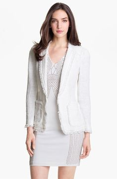 Rebecca Taylor Tweed Jacket available at #Nordstrom