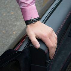 Black on Black! A perfect detail on every wrist. Get it exclusively on www.obelizk.com #obelizk #obelizk_bracelets #menstyle #mensfashion #armband #watchporn #watch #watches #Bracelet #Jewelry #Hublot #RichardMille #AudemarsPiguet #Rolex #Cartier #UlysseNardin #Hermes #LouisVuitton #Watches #Fashion #Design #TheBillionairesClub #WatchAnish #Tourbillon #breitling