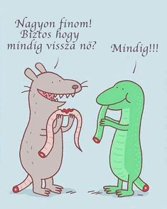 These funny and sometimes cynical cartoons are by Jim Benton, a talented comic artist who also created the (in) famous I'm Happy Bunny that many of us know and love. Funny Cartoons, Funny Comics, Funny Jokes, Hilarious, It's Funny, Funny Facts, Funny Images, Best Funny Pictures, Insects