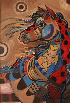 """Horse"" by Frederic Bonin Pissarro"