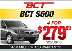 BCT S600 - 4 for $279.99