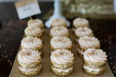 Cheers, Let's Celebrate, A Gold and Glitter party by Sweet Details