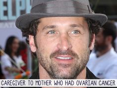 Patrick Dempsey was a caregiver to his mother | 21 Inspiring Celebrity Caregivers