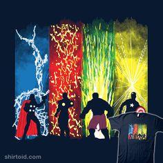 Justice Prevails #captainamerica #comic #comics #dalethesk8er #daletheskater #film #hulk #ironman #marvelcomics #movie #silhouette #superhero #theavengers #thor