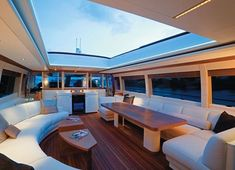 Moon goddess yacht- luxury interior #luxuryyachtinterior