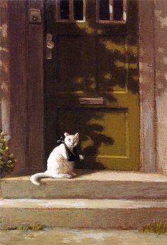 ミヒャエル・ゾーヴァ『骨折した猫』Michael Sowa - The Broken Paw pic.twitter.com/KnRO6a7w0h